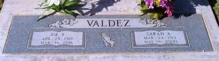 VALDEZ, SARAH A. - Maricopa County, Arizona | SARAH A. VALDEZ - Arizona Gravestone Photos