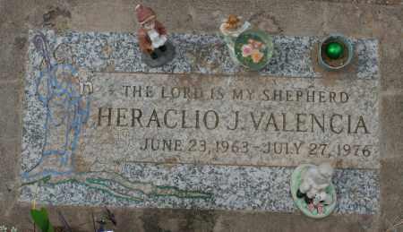 VALENCIA, HERACLIO J. - Maricopa County, Arizona | HERACLIO J. VALENCIA - Arizona Gravestone Photos