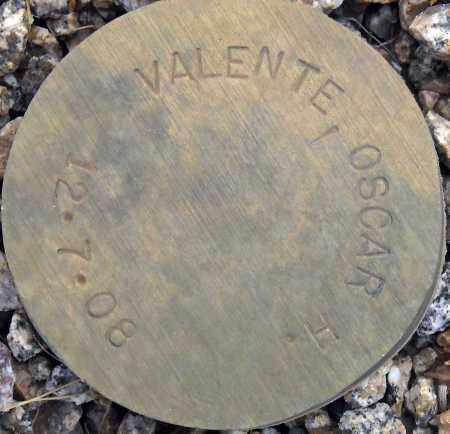 VALENTE, OSCAR H. - Maricopa County, Arizona   OSCAR H. VALENTE - Arizona Gravestone Photos