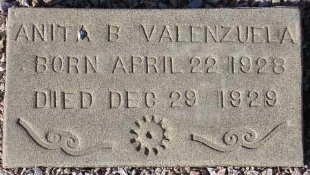 VALENZUELA, ANITA B. - Maricopa County, Arizona | ANITA B. VALENZUELA - Arizona Gravestone Photos