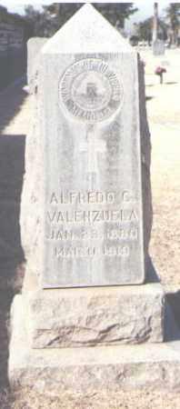 VALENZUELA, ALFREDO C. - Maricopa County, Arizona | ALFREDO C. VALENZUELA - Arizona Gravestone Photos