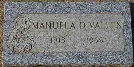 VALLES, MANUELA D. - Maricopa County, Arizona | MANUELA D. VALLES - Arizona Gravestone Photos