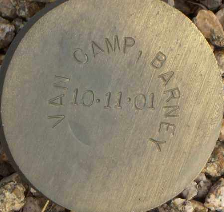 VAN CAMP, BARNEY - Maricopa County, Arizona | BARNEY VAN CAMP - Arizona Gravestone Photos