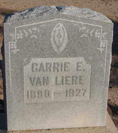 VAN LIERE, CARRIE E. - Maricopa County, Arizona   CARRIE E. VAN LIERE - Arizona Gravestone Photos