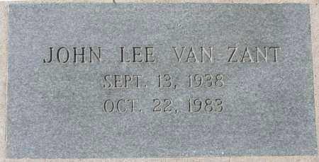 VAN ZANT, JOHN LEE - Maricopa County, Arizona | JOHN LEE VAN ZANT - Arizona Gravestone Photos