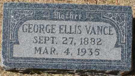 VANCE, GEORGE ELLIS - Maricopa County, Arizona | GEORGE ELLIS VANCE - Arizona Gravestone Photos