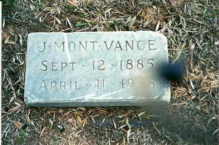 VANCE, J MONT - Maricopa County, Arizona | J MONT VANCE - Arizona Gravestone Photos