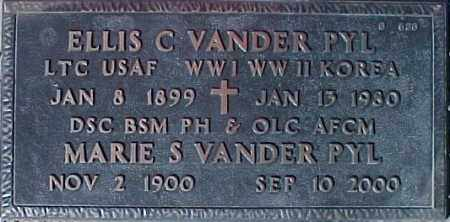 VANDER PYL, MARIE S. - Maricopa County, Arizona   MARIE S. VANDER PYL - Arizona Gravestone Photos