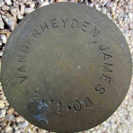 VANDERHEYDEN, JAMES - Maricopa County, Arizona | JAMES VANDERHEYDEN - Arizona Gravestone Photos