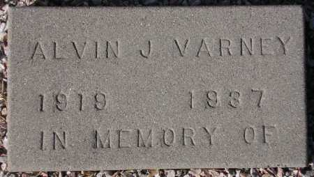 VARNEY, ALVIN J(AMES) - Maricopa County, Arizona | ALVIN J(AMES) VARNEY - Arizona Gravestone Photos