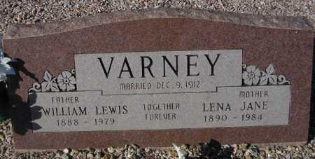 VARNEY, LENA JANE - Maricopa County, Arizona | LENA JANE VARNEY - Arizona Gravestone Photos