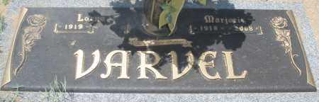 VARVEL, MARJORIE - Maricopa County, Arizona | MARJORIE VARVEL - Arizona Gravestone Photos
