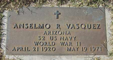 VASQUEZ, ANSELMO R. - Maricopa County, Arizona | ANSELMO R. VASQUEZ - Arizona Gravestone Photos