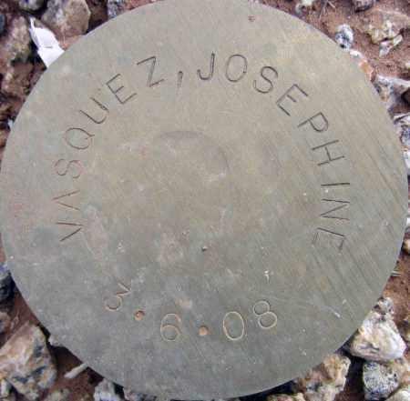 VASQUEZ, JOSEPHINE - Maricopa County, Arizona   JOSEPHINE VASQUEZ - Arizona Gravestone Photos
