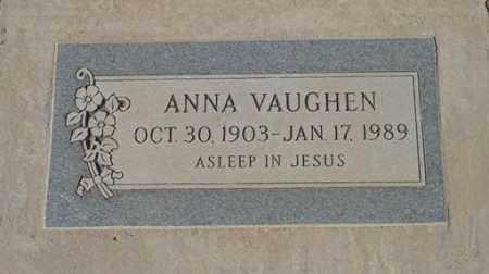 VAUGHEN, ANNA - Maricopa County, Arizona | ANNA VAUGHEN - Arizona Gravestone Photos