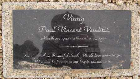 VENDITTI, PAUL VINCENT - Maricopa County, Arizona | PAUL VINCENT VENDITTI - Arizona Gravestone Photos