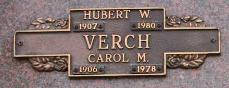 VERCH, CAROL M - Maricopa County, Arizona | CAROL M VERCH - Arizona Gravestone Photos