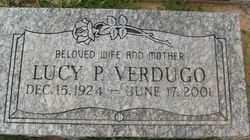 VERDUGO, LUCY P. - Maricopa County, Arizona | LUCY P. VERDUGO - Arizona Gravestone Photos