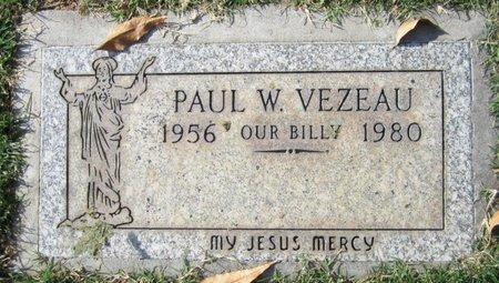 VEZEAU, PAUL W. - Maricopa County, Arizona | PAUL W. VEZEAU - Arizona Gravestone Photos