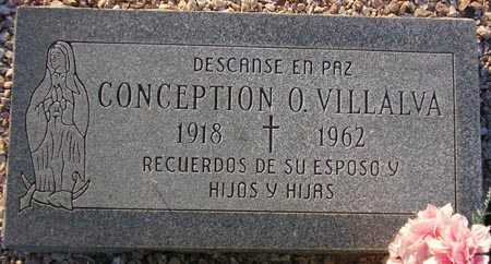 VILLALVA, CONCEPTION O. - Maricopa County, Arizona | CONCEPTION O. VILLALVA - Arizona Gravestone Photos