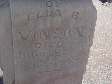 VINSON, ELLA B. - Maricopa County, Arizona | ELLA B. VINSON - Arizona Gravestone Photos
