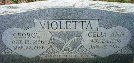 VIOLETTA, GEORGE - Maricopa County, Arizona | GEORGE VIOLETTA - Arizona Gravestone Photos