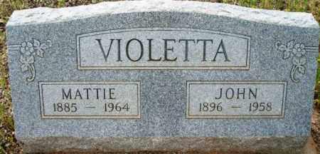 VIOLETTA, MATTIE - Maricopa County, Arizona | MATTIE VIOLETTA - Arizona Gravestone Photos