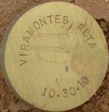 VIRAMONTES, ALTA - Maricopa County, Arizona   ALTA VIRAMONTES - Arizona Gravestone Photos