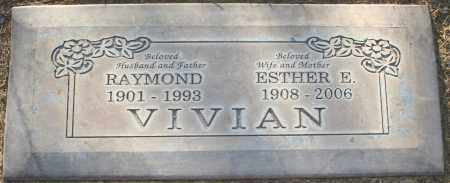 VIVIAN, ESTHER ELNORA - Maricopa County, Arizona | ESTHER ELNORA VIVIAN - Arizona Gravestone Photos