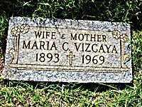 VIZCAYA, MARIA - Maricopa County, Arizona | MARIA VIZCAYA - Arizona Gravestone Photos