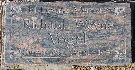 VOGEL, RICHARD WAYNE - Maricopa County, Arizona | RICHARD WAYNE VOGEL - Arizona Gravestone Photos