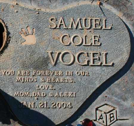 VOGEL, SAMUEL COLE - Maricopa County, Arizona | SAMUEL COLE VOGEL - Arizona Gravestone Photos