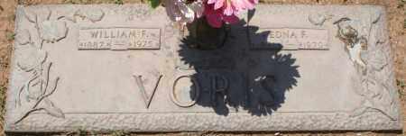 VORIS, WILLIAM F. - Maricopa County, Arizona   WILLIAM F. VORIS - Arizona Gravestone Photos