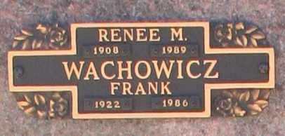 WACHOWICZ, RENEE M - Maricopa County, Arizona | RENEE M WACHOWICZ - Arizona Gravestone Photos