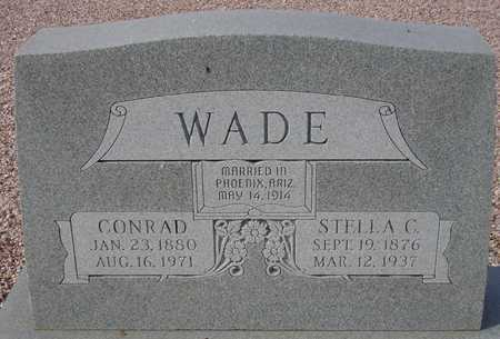 WADE, STELLA C. - Maricopa County, Arizona | STELLA C. WADE - Arizona Gravestone Photos