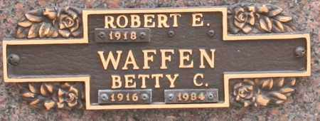 WAFFEN, BETTY C - Maricopa County, Arizona | BETTY C WAFFEN - Arizona Gravestone Photos