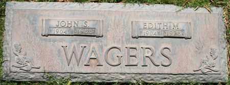 WAGERS, JOHN S - Maricopa County, Arizona   JOHN S WAGERS - Arizona Gravestone Photos
