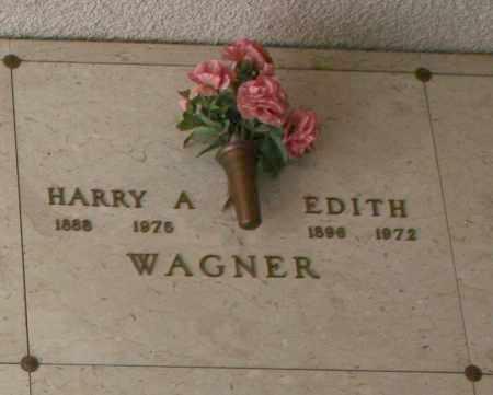 WAGNER, HARRY A. - Maricopa County, Arizona | HARRY A. WAGNER - Arizona Gravestone Photos