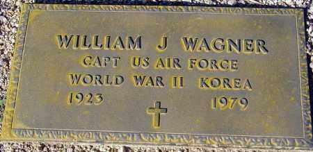 WAGNER, WILLIAM J. - Maricopa County, Arizona | WILLIAM J. WAGNER - Arizona Gravestone Photos