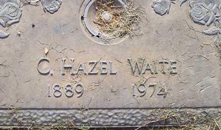 WAITE, C. HAZEL - Maricopa County, Arizona   C. HAZEL WAITE - Arizona Gravestone Photos