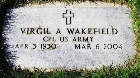 WAKEFIELD, VIRGIL A. - Maricopa County, Arizona   VIRGIL A. WAKEFIELD - Arizona Gravestone Photos