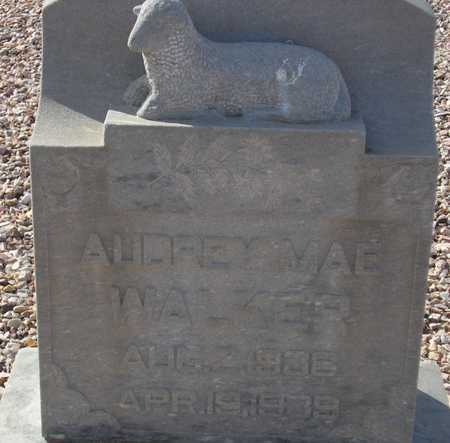 WALKER, AUDREY MAE - Maricopa County, Arizona | AUDREY MAE WALKER - Arizona Gravestone Photos