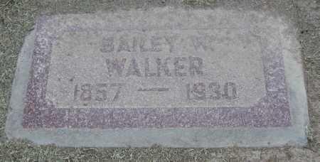 WALKER, BAILEY W. - Maricopa County, Arizona | BAILEY W. WALKER - Arizona Gravestone Photos