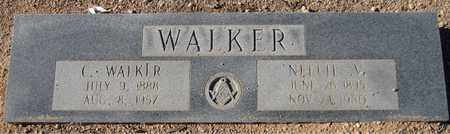 WALKER, C. - Maricopa County, Arizona | C. WALKER - Arizona Gravestone Photos