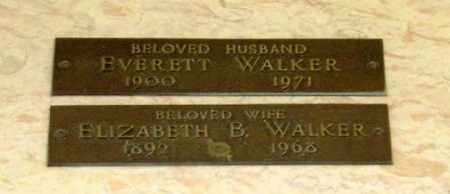 WALKER, EVERETT - Maricopa County, Arizona | EVERETT WALKER - Arizona Gravestone Photos