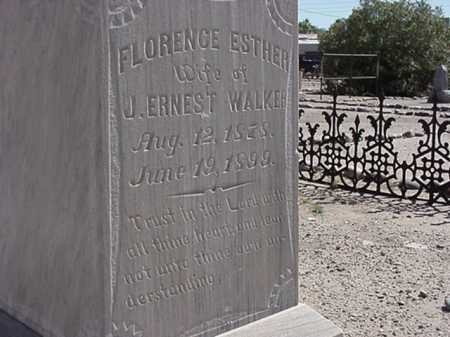 WALKER, FLORENCE ESTHER - Maricopa County, Arizona | FLORENCE ESTHER WALKER - Arizona Gravestone Photos