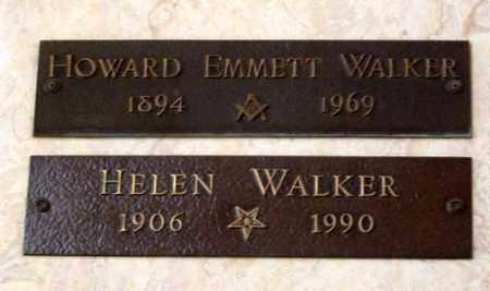 WALKER, HOWARD EMMETT - Maricopa County, Arizona   HOWARD EMMETT WALKER - Arizona Gravestone Photos