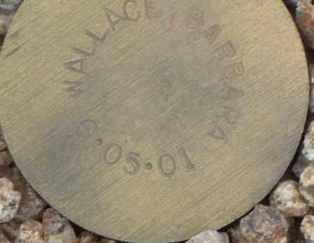 WALLACE, BARBARA - Maricopa County, Arizona | BARBARA WALLACE - Arizona Gravestone Photos
