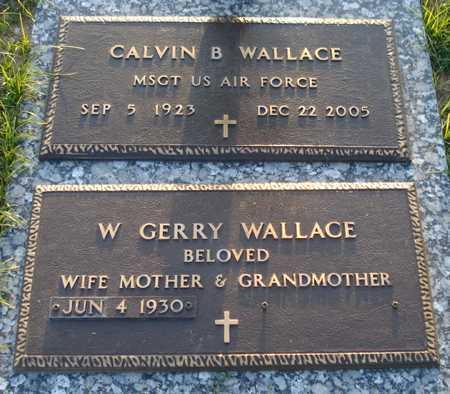 WALLACE, W. GERRY - Maricopa County, Arizona | W. GERRY WALLACE - Arizona Gravestone Photos