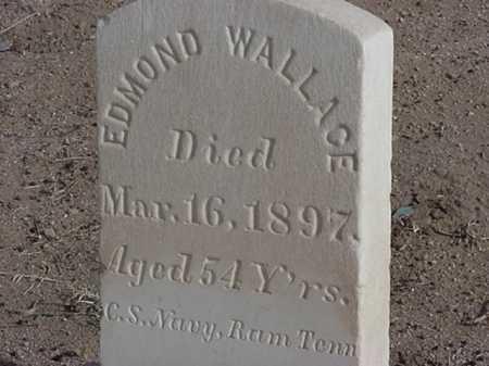 WALLACE, EDMOND - Maricopa County, Arizona | EDMOND WALLACE - Arizona Gravestone Photos